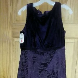 Vintage Jordan LadiesPurple Bridesmaid dress